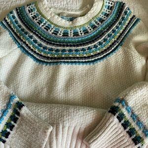 Loft fair isles sweater